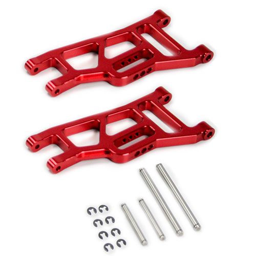 Red Replaces Traxxas Part 2530 Atomik RC Traxxas Ford Raptor 1:10 Aluminum Alloy Front Lower Bulkhead Hop Up Upgrade